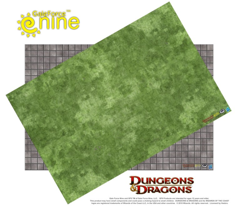 "Dungeon Master's Map Set: 2x 20"" x 30"" Maps (72750)"