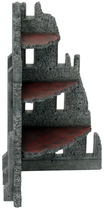 Battlefield in a Box - Gothic Corner Ruin (BB516)