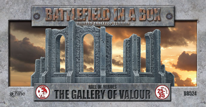 Battlefield in a Box: The Gallery Of Valour (BB524)