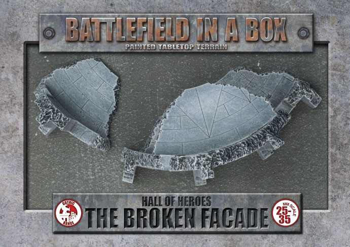 Battlefield in a Box Hall Of Heroes: The Broken Facade (BB525)