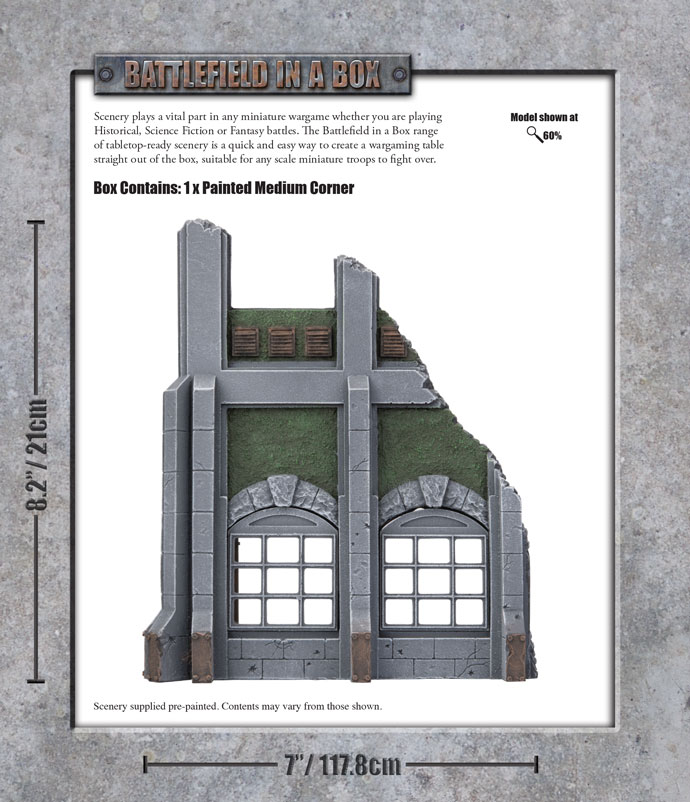 Click here to Pre-order the Gothic Industrial Small Corner...