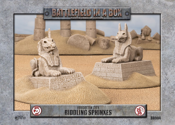 Battlefield in a Box: Forgotten City Riddling Sphinxes (BB904)