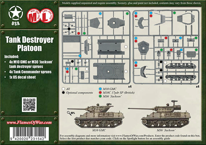 Tank Destroyer Platoon (UBX49)